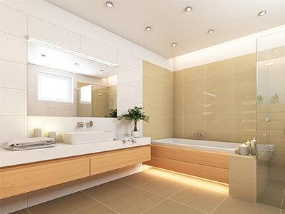 Eco friendly bathroom remodeling crimson design construction for Eco friendly bathroom remodel